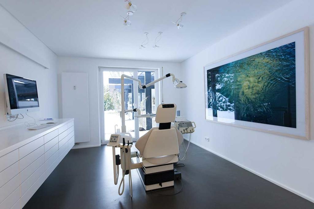 Die Behandlungsräume der Praxis Christina Bingmenn